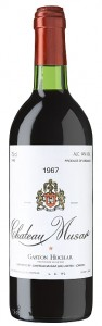 ChateauMusar_1967 Red_